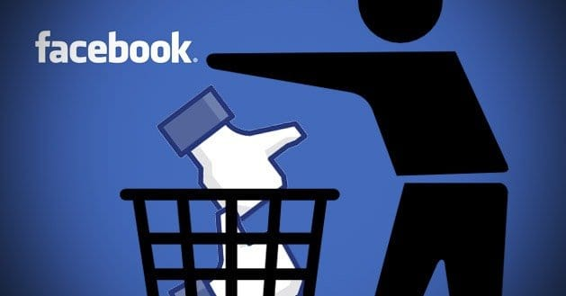 how to delete fb page permanently