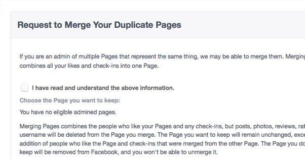 Solicitud para combinar páginas