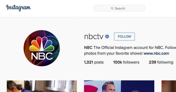 NBC Instagram