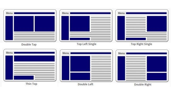 Ad Layout Examples