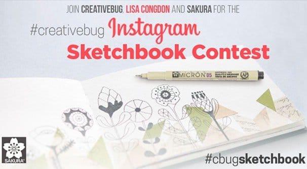 Instagram Sketchbook Contest Example
