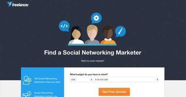 Hiring a Freelancer for Social Media