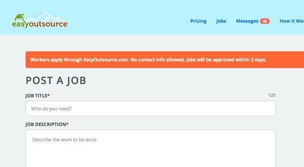 Posting a Job