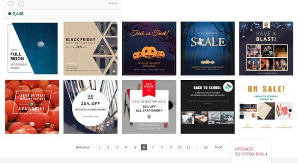 The Grand List of 50+ Instagram Templates and Downloads