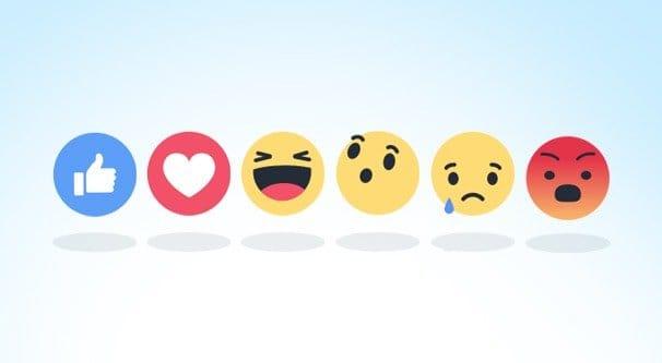 Facebook Reactions Illustration