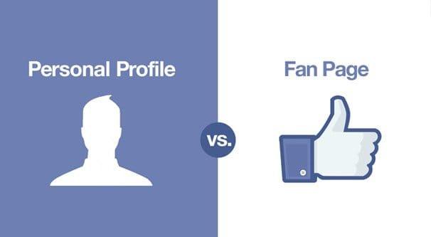 Page vs Profile