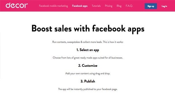 how to create a facebook landing page for free