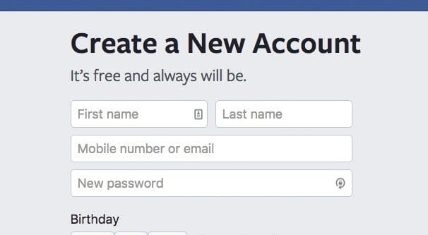 Creating Another Facebook Account