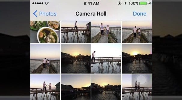 Camera Roll Photo on Device