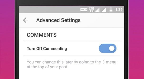 how to delete past comments instagram