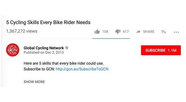 YouTube Description on Video